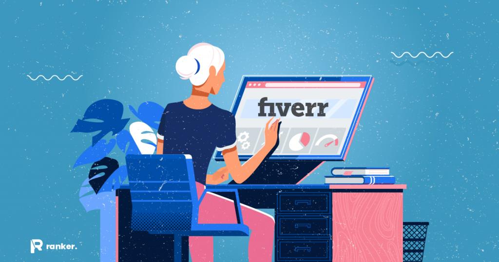 ¿Qué es Fiverr y cómo funciona Review & Consejos (2021)