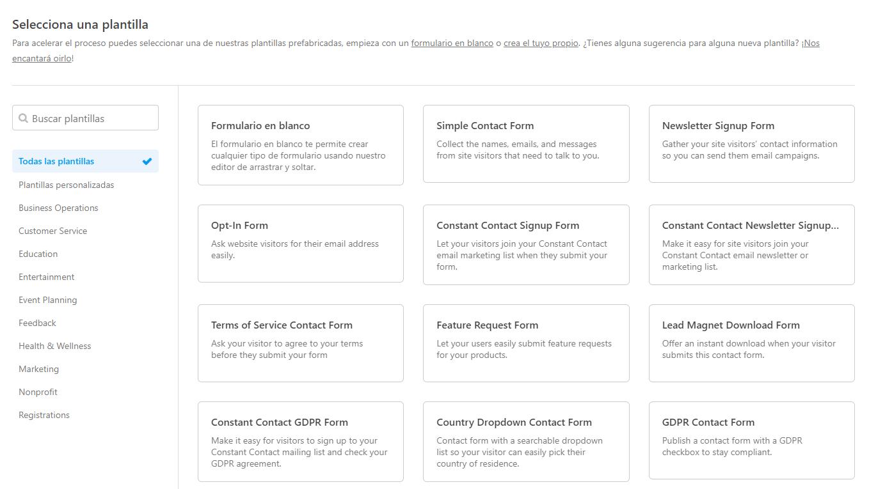 formularios de wordpress recomendados