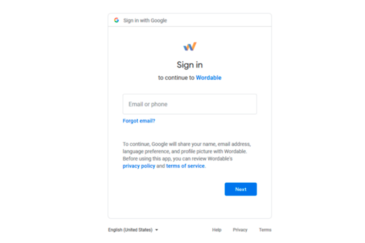 Wordable google Rankerstudio